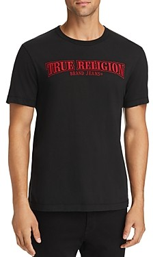 True Religion Arch True Embroidered Logo Tee