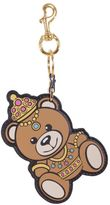 "Moschino Teddy Bear"" Leather Key Holder"""