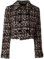 Dolce & Gabbana tweed jacket - women - Cotton/Acrylic/Polyamide/Wool - 40