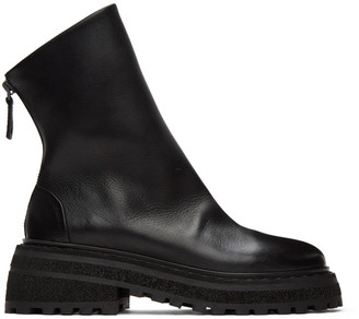 Marsèll Black Carro Zip Boots