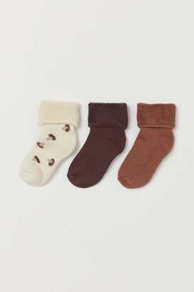 H&M 3-Pack Terry Socks