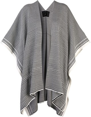Voz Full Stripe knitted duster
