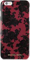 MICHAEL Michael Kors Lace-Print iPhone 6 Plus Case