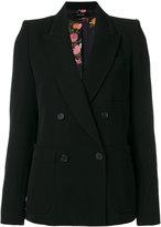 Isabel Marant Laya blazer - women - Cotton/Viscose/Wool - 34