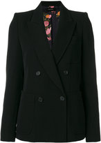 Isabel Marant Laya blazer - women - Wool/Cotton/Viscose - 36