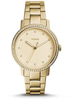 Fossil Neely Three-Hand Gold-Tone Stainless Steel Watch