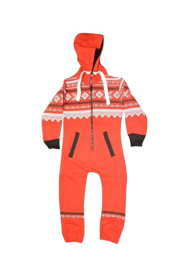 My Mix Trendz Kids Plain Aztec Animal Sleepsuit Pyjamas All In One Suit Comfy Soft Hoodeed Onesie