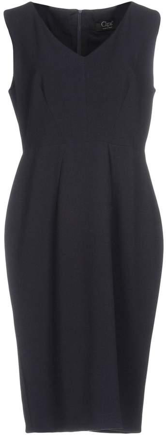 Clips Knee-length dresses - Item 34735308