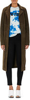 Barneys New York Women's Suede High-Waisted Trench Coat
