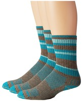 Wrightsock Adventure Crew 3 Pack Crew Cut Socks Shoes