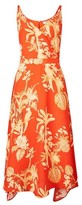 Dorothy Perkins Womens Tall Orange Parrot Print Camisole Dress, Orange
