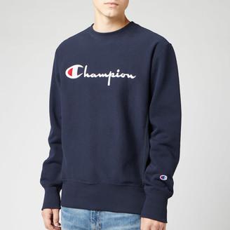 Champion Men's Big Script Sweatshirt