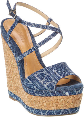 Schutz Charly Wedge Sandal