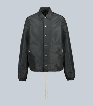 Rick Owens Bauhaus boxy lightweight jacket