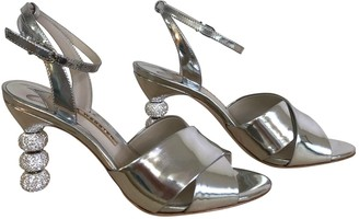 Sophia Webster Silver Patent leather Sandals