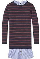 Scotch & Soda R ́Belle Girl's Knitted Stripe Shirt Dress