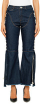 Vale Denim Desert Days Flare Jeans With Rope Plating Detail