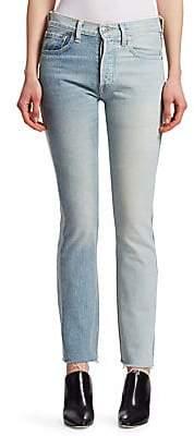 Vetements Women's X LEVI'S Two Color Jeans