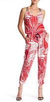 Splendid Floral Print Jumpsuit