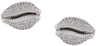 Vivienne Westwood Crystal-Embellished Shell Earring