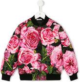Dolce & Gabbana rose print jacket