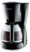 Hamilton Beach Black Switch 12-Cup Coffee Maker