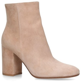 Gianvito Rossi Suede Rolling Boots 85