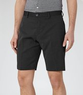 Reiss Reiss Apollo - Polka Dot Shorts In Blue