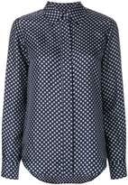 Alberto Biani geometric print shirt