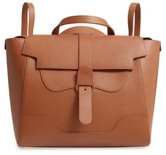 Senreve Maestra Pebbled Leather Convertible Satchel