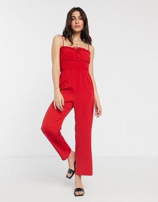 Fashion Union jumpsuit with tie details