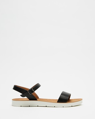 Freelance Shoes - Women's Black Sandals - Bono - Size One Size, 38 at The Iconic