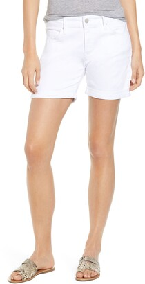 Mavi Jeans Pixie Cuffed Denim Shorts