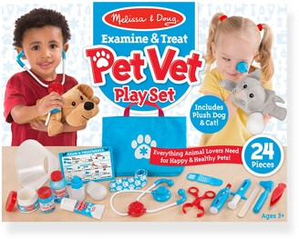 Melissa & Doug 24-Piece Pet Vet Play Set