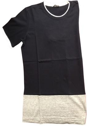 Miu Miu Blue Cotton T-shirts
