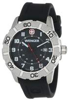 Wenger Roadster Stainless Steel Watch with Silicone Strap