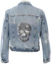 HIPCHIK Skull Denim Jacket