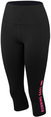 Running Bare Womens Ab Waisted What WOTS 3/4 Tights