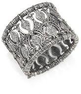 Konstantino Penelope Sterling Silver Etched Cuff Bracelet