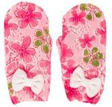 Lilly Pulitzer Girls' Floral Print Gloves