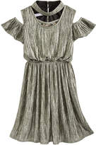 Bonnie Jean Metallic Boudre Dress, Big Girls (7-16)