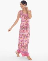 Chico's Multi-Print Maxi Dress