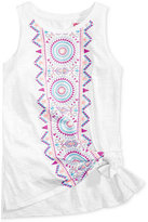 Epic Threads Graphic-Print Tank Top, Big Girls (7-16), Only at Macy's