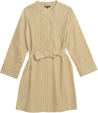 soeur Ipanema Shirt Dress - 36 - UK10 / Yellow Stripe
