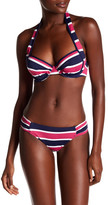 Tommy Bahama Stripe Shirred Bikini Bottom