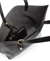 Foley + Corinna Smooth Leather Tote, Black