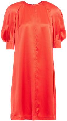 McQ Hammered Silk-satin Dress