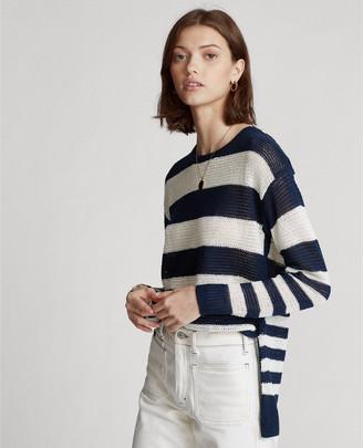 Ralph Lauren Striped Linen Sweater