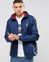 Reebok Windbreaker Jacket In Blue AY1176