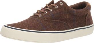 Sperry Mens Striper II CVO Wool Plaid Sneaker